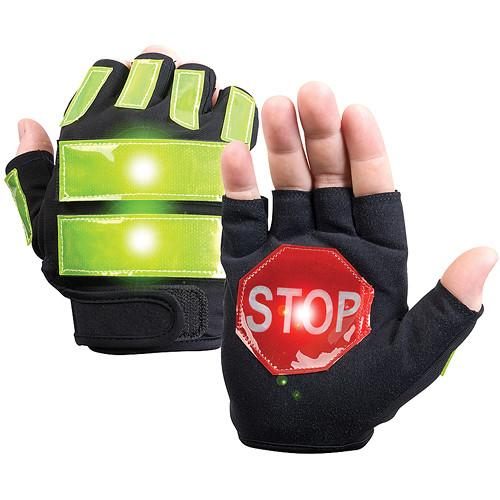 Brite-Strike Traffic Safety Gloves X-Large ITG-08 L/XL