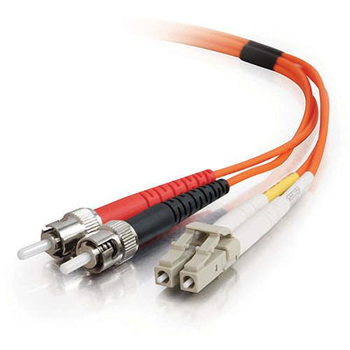 C2G 3m LC/ST Duplex 62.5/125 Multimode Fiber Patch Cable 33165