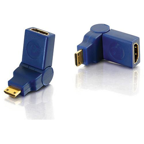 C2G Velocity 90 Deg Rotating HDMI Female to HDMI Mini Male 40434