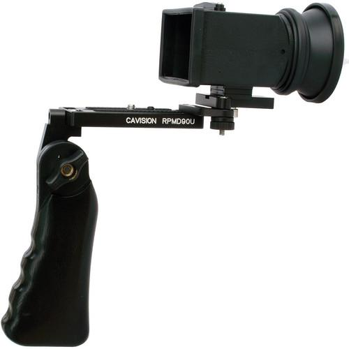 Cavision Single Handgrip Viewfinder Package for Video MH3Q-SH
