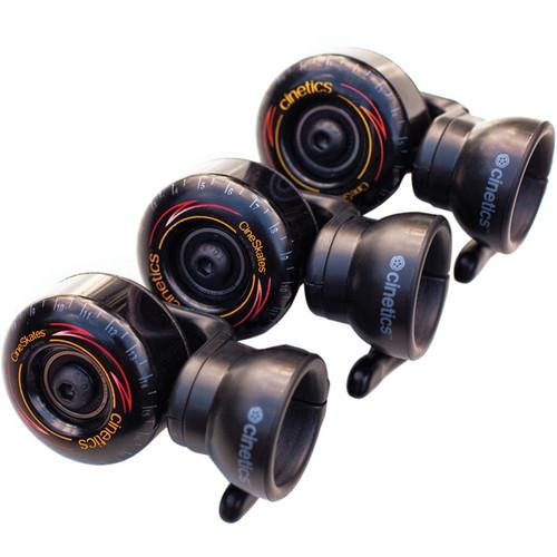 Cinetics CineSkates Camera Dolly Wheels for GorillaPod Focus CS8