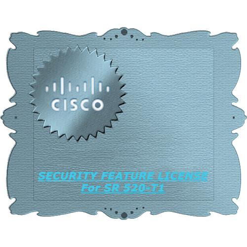 Cisco Security Feature License for SR 520-T1 L-SR520-T1-SEC