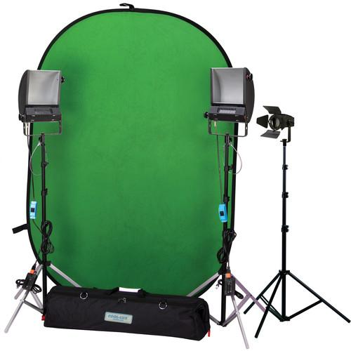 Cool-Lux Hollywood Chroma Key Blue/Green Screen Kit II 945185