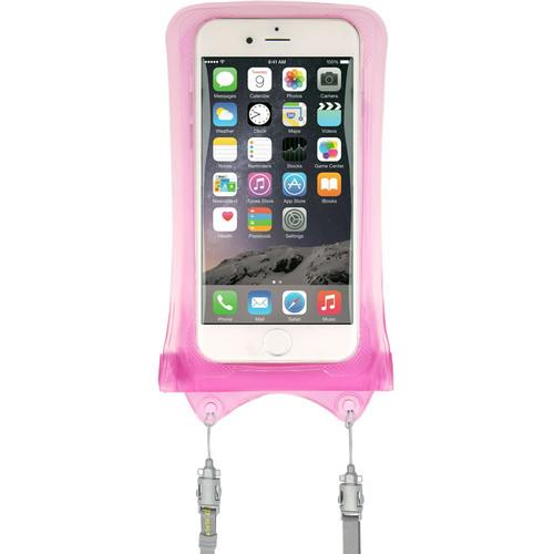 DiCAPac WPI10 Waterproof Case for iPhone (Pink) WP-I10 PINK