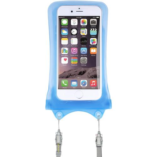DiCAPac WPI10 Waterproof Case for iPhone WP-I10 SKYBLUE