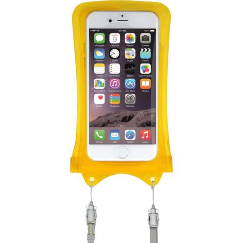 DiCAPac WPI10 Waterproof Case for iPhone (Yellow) WP-I10 YELLOW
