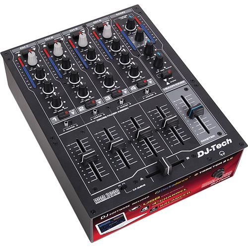 DJ-Tech DDM 2000 USB Professional 4-Channel USB DJ DDM 2000 USB