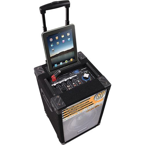 DJ-Tech uCube 85 MKII Portable PA System with iPad UCUBE 85 MKII