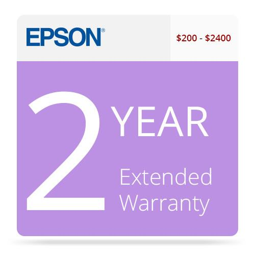 Epson 2-Year U.S. Extended Warranty for Inkjet EPPSNPIJC2