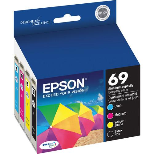 Epson Epson 69 DURABrite Ultra Ink Combo Pack T069120-BCS
