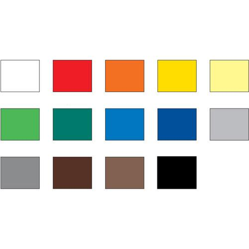Foba TT Plast Reference Color Chart (51 x 40