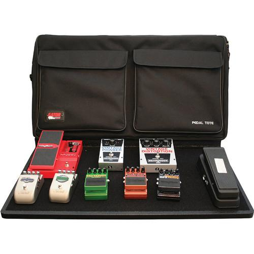 Gator Cases Pro Size Pedalboard with Carry Bag and GPT-PRO-PWR