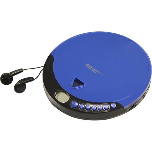 HamiltonBuhl HACX-114 Portable CD Player with 60 Second HACX-114