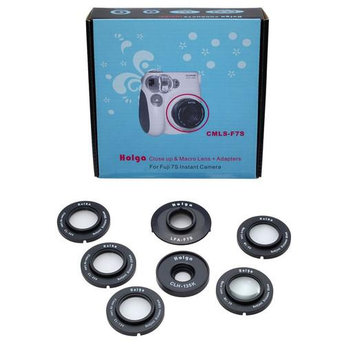 Holga CMLS-F7S Close-Up & Macro Lens Kit for Fujifilm 772120