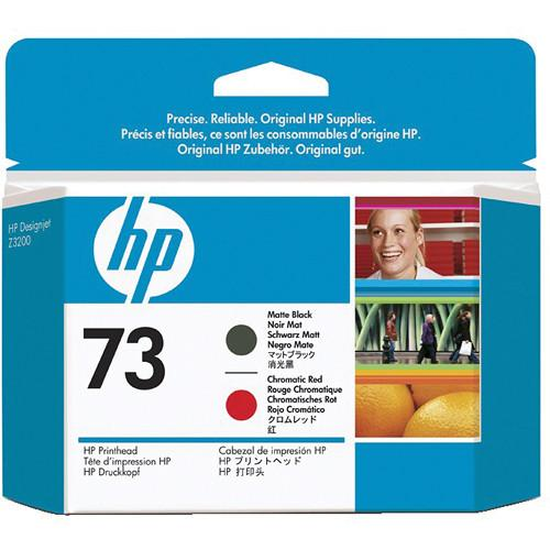 HP 73 Matte Black & Chromatic Red Printhead CD949A