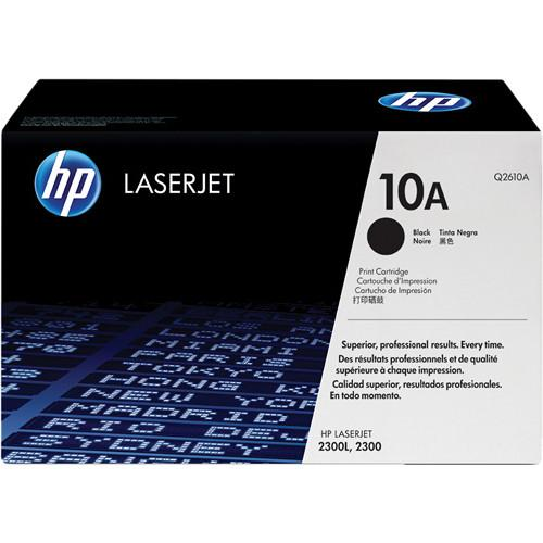 HP  HP 10A Black LaserJet Toner Cartridge Q2610A