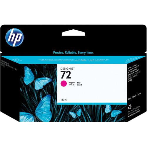 HP  HP 72 Magenta Ink Cartridge (130 ml) C9372A