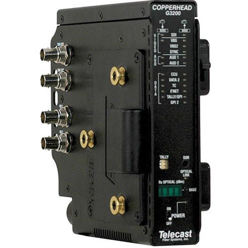 Ikegami Fiber Optic Camera Transceiver COPPERHEAD 3200