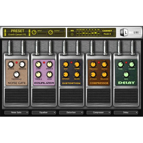Image-Line Hardcore Guitar Effects Plug-in 11-31116