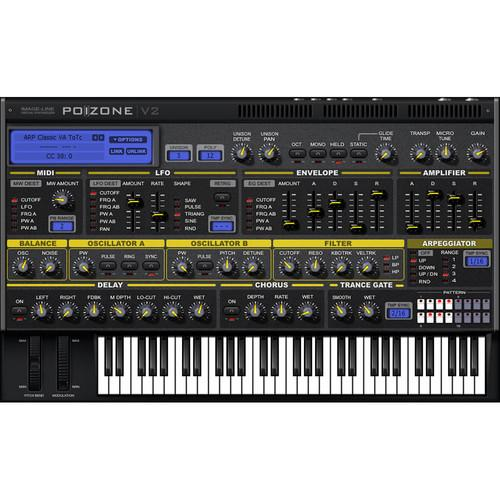 Image-Line PoiZone - Subtractive Virtual Synthesizer 11-31115