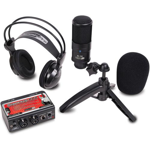 Jammin StudioPack 202 Studio Recording Kit STUDIO PACK 202