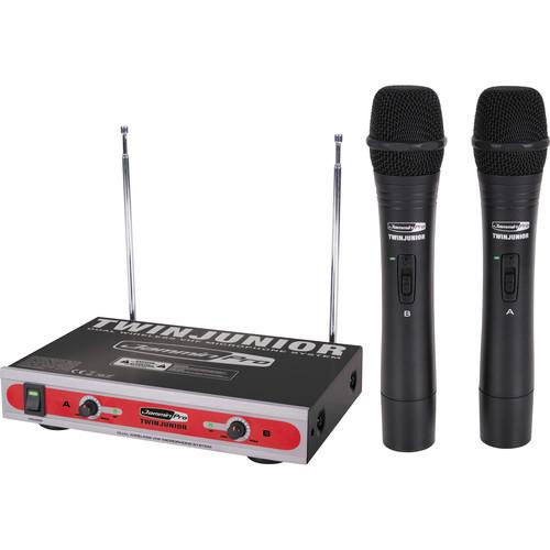 Jammin TwinJunior Dual-Channel VHF Wireless TWIN JUNIOR
