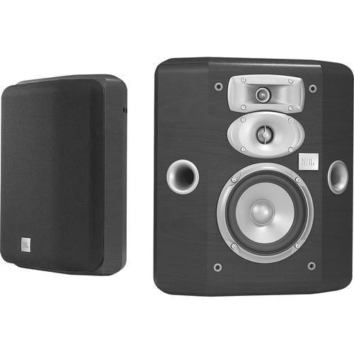 JBL L810 3-Way Bookshelf Speakers (Black, Pair) L810-H