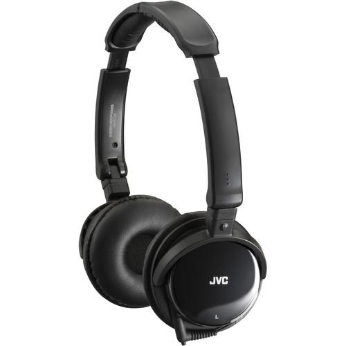 JVC HA-NC120 On-Ear Noise Canceling Headphones HANC120