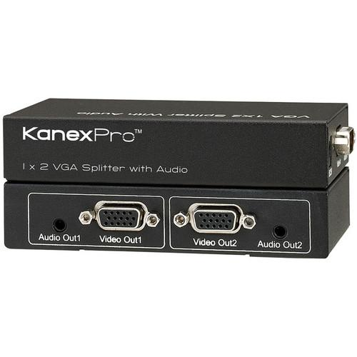 KanexPro  VGA 1 x 2 Splitter with Audio VGA1X2SP