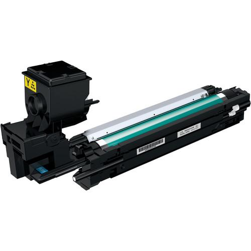 Konica High Capacity Yellow Toner Cartridge A0WG07F