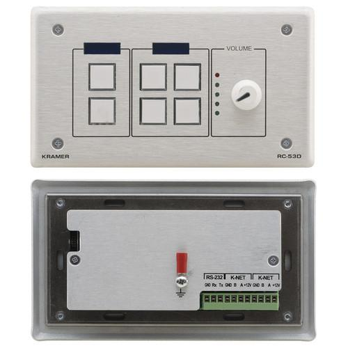 Kramer  K-NET Auxiliary Control Panel RC-53D