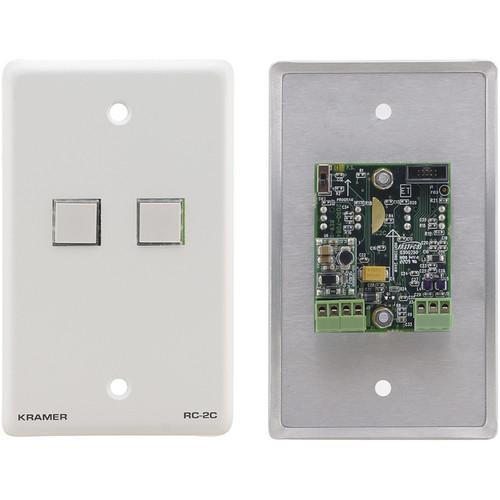 Kramer RC-2C Wall Plate RS-232 & IR Controller RC-2C