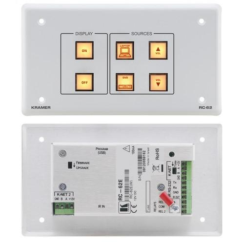 Kramer RC-62 Room Controller with Printed Group Labels RC-62