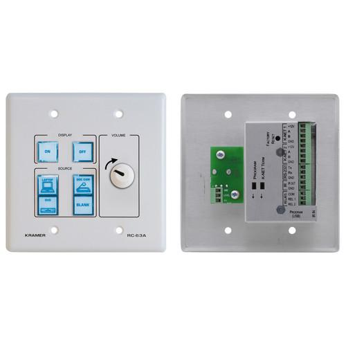 Kramer RC-63A Room Controller with Printed Group Labels RC-63A