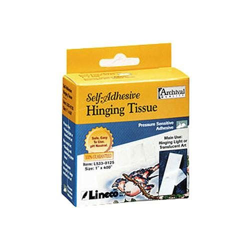 Lineco Self Adhesive Mounting / Hinging Tissue L533-0126