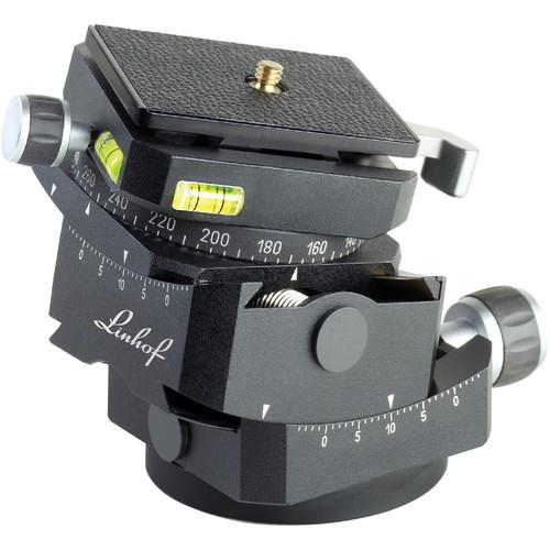 Linhof 3D Micro Geared Leveling Pan and Tilt Head 003660