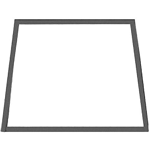 Listec Teleprompters Fold-down Trapezoidal Mirror B-3257P/LR