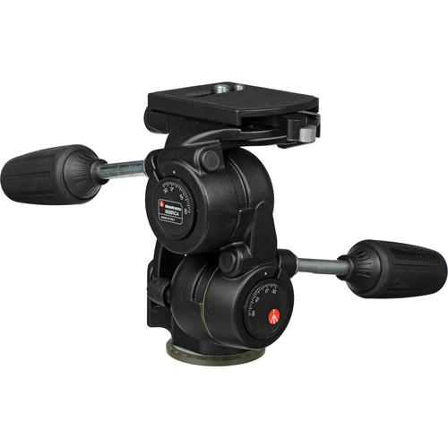 Manfrotto 808RC4 3-Way Pan/Tilt Head with RC4 Quick 808RC4