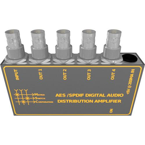 Matrix Switch AES / SPDIF Digital Audio MSC-AES/SPDIF4