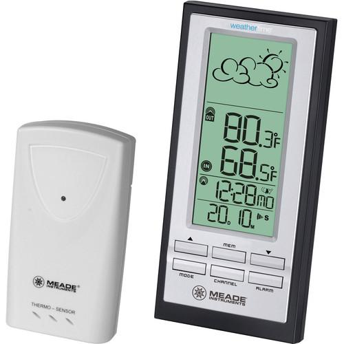 Meade Personal Weather Station with Atomic Clock TE388W