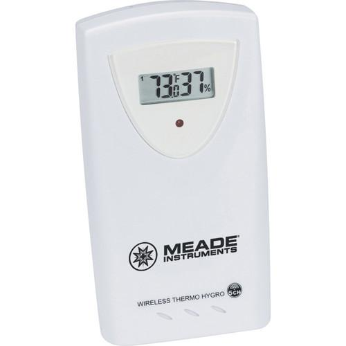 Meade Wireless Remote Temperature and Humidity Sensor TS33F-M