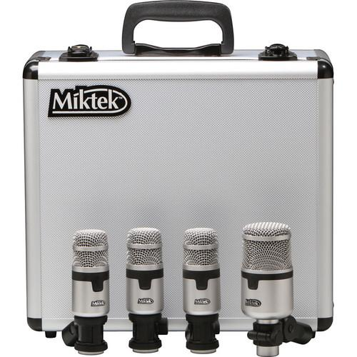 Miktek  PMD4 - 4-Piece Drum Microphone Kit PMD4