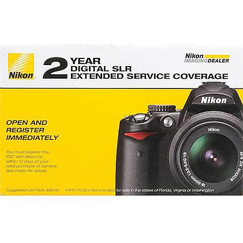 Nikon 2-Year Extended Service Coverage (ESC) for the Nikon 11739