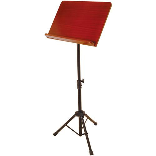 On-Stage SM7312W Conductor Stand with Wide Wooden SM7312W