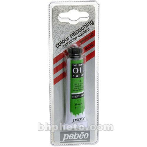 Pebeo Oil Color Paint: No.20 Light Green - 3/4x4