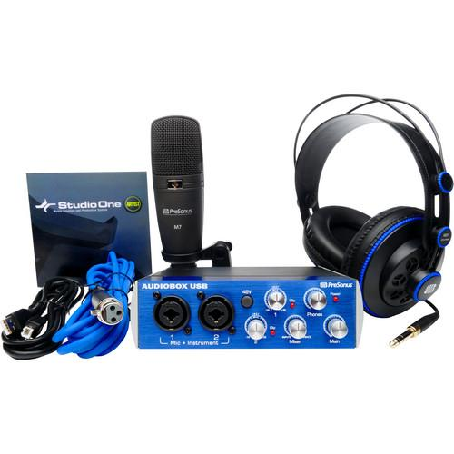 PreSonus AudioBox Studio Set - Complete AUDIOBOX STUDIO