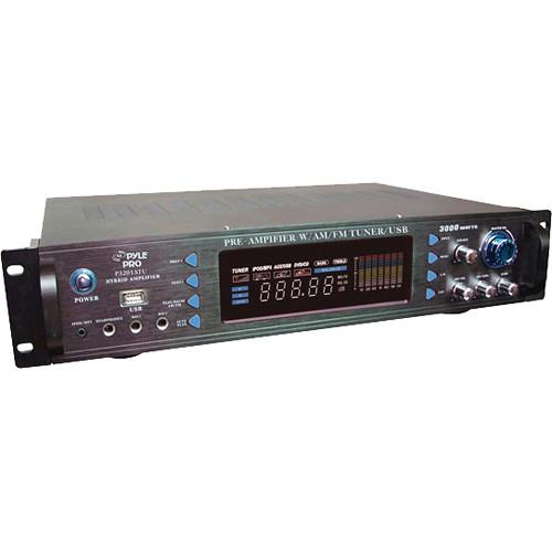 Pyle Pro 3000 Watt Hybrid Pre Amplifier with AM/FM P3201ATU