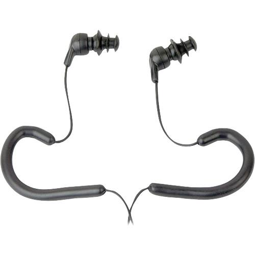 Pyle Pro PWPE10 Waterproof In-Ear Headphones (Black) PWPE10B
