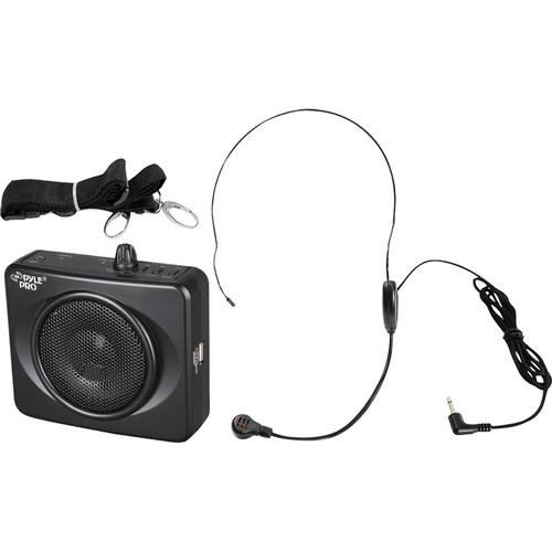 Pyle Pro Waistband Portable PA System with USB Input PWMA60UB
