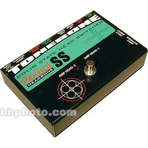 Radial Engineering Headbone SS Guitar Amp Head Switcher R800